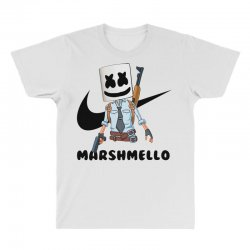 funny fornite marshmello and the gun All Over Men's T-shirt | Artistshot