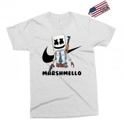 funny fornite marshmello and the gun Exclusive T-shirt | Artistshot