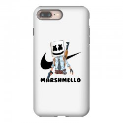 funny fornite marshmello and the gun iPhone 8 Plus Case | Artistshot