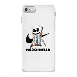 funny fornite marshmello and the gun iPhone 7 Case | Artistshot