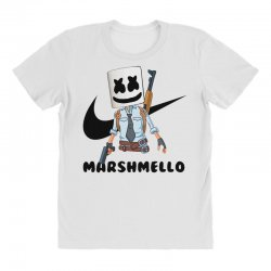 funny fornite marshmello and the gun All Over Women's T-shirt | Artistshot