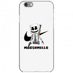 funny fornite marshmello and the gun iPhone 6/6s Case | Artistshot