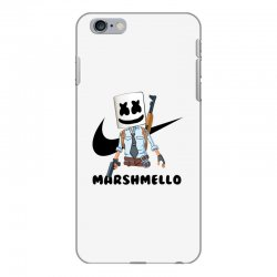 funny fornite marshmello and the gun iPhone 6 Plus/6s Plus Case | Artistshot