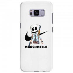 funny fornite marshmello and the gun Samsung Galaxy S8 Plus Case | Artistshot
