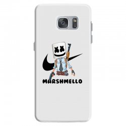 funny fornite marshmello and the gun Samsung Galaxy S7 Case | Artistshot