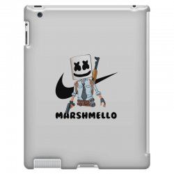funny fornite marshmello and the gun iPad 3 and 4 Case | Artistshot