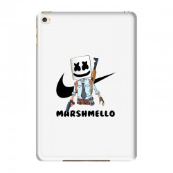 funny fornite marshmello and the gun iPad Mini 4 Case | Artistshot