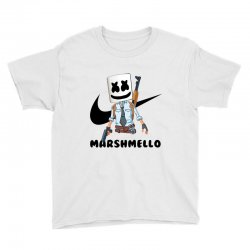 funny fornite marshmello and the gun Youth Tee | Artistshot