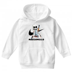 funny fornite marshmello and the gun Youth Hoodie | Artistshot