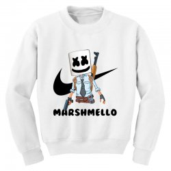 funny fornite marshmello and the gun Youth Sweatshirt | Artistshot