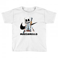 funny fornite marshmello and the gun Toddler T-shirt | Artistshot
