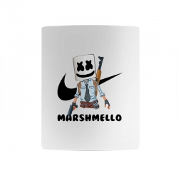 funny fornite marshmello and the gun Mug | Artistshot