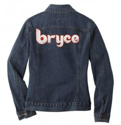 bryce phillies Ladies Denim Jacket | Artistshot
