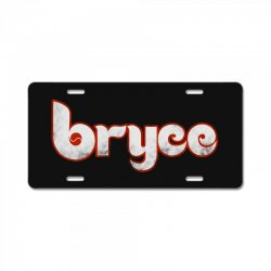 bryce phillies License Plate | Artistshot