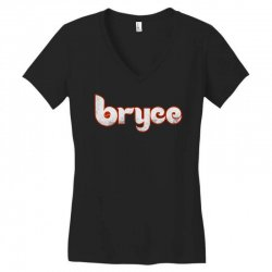 bryce phillies Women's V-Neck T-Shirt | Artistshot