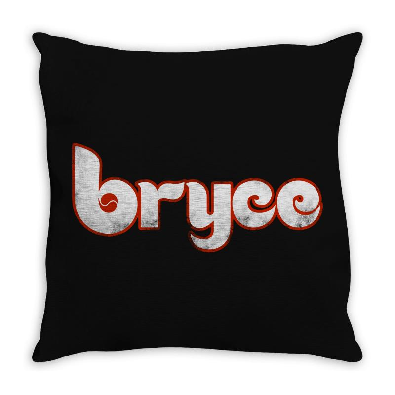Bryce Phillies Throw Pillow | Artistshot