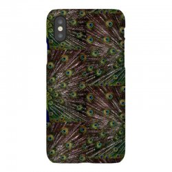 blue and green peacock iPhoneX Case | Artistshot