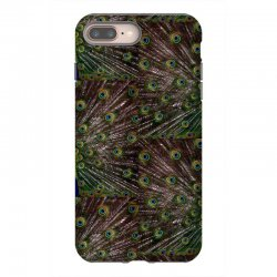 blue and green peacock iPhone 8 Plus Case | Artistshot