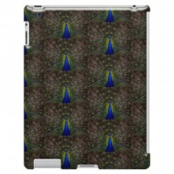 blue and green peacock iPad 3 and 4 Case | Artistshot