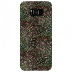 blue and green peacock Samsung Galaxy S8 Case | Artistshot