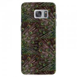 blue and green peacock Samsung Galaxy S7 Case | Artistshot