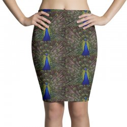 blue and green peacock Pencil Skirts | Artistshot