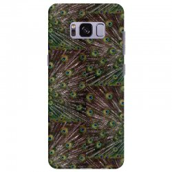 blue and green peacock Samsung Galaxy S8 Plus Case | Artistshot