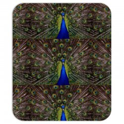 blue and green peacock Mousepad | Artistshot