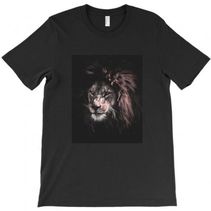 Lion Painting T-shirt Designed By Salmanaz