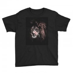 lion painting Youth Tee | Artistshot