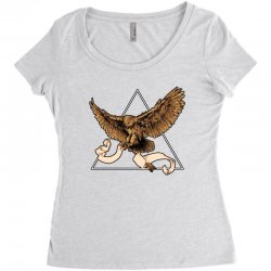 owl Women's Triblend Scoop T-shirt | Artistshot
