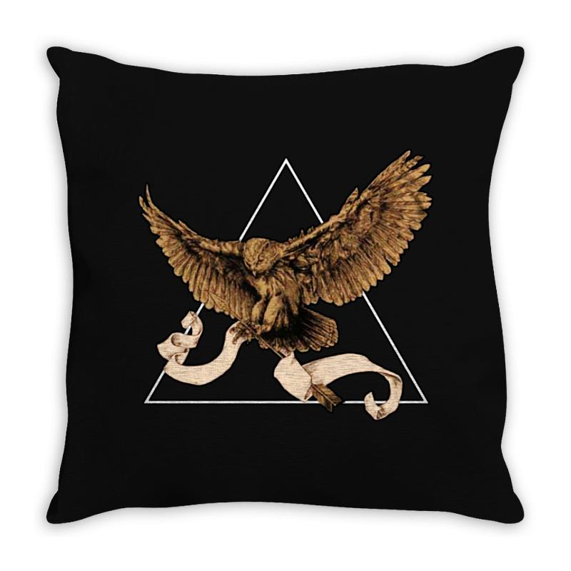 Owl Throw Pillow | Artistshot