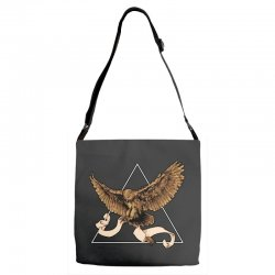 owl Adjustable Strap Totes | Artistshot