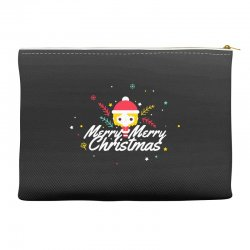 merry christmas Accessory Pouches | Artistshot