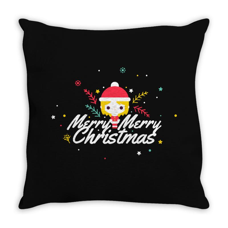 Merry Christmas Throw Pillow | Artistshot