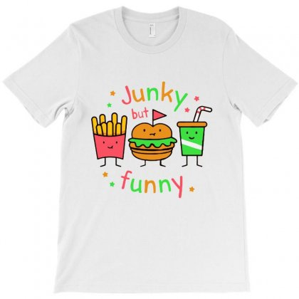 Junky But Funny T-shirt Designed By Bertaria