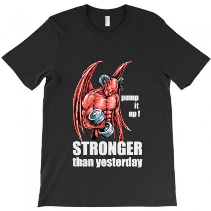 Fitness Evil T-shirt Designed By Bertaria