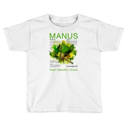 Emerald Green Snail Toddler T-shirt Designed By Clintgfx