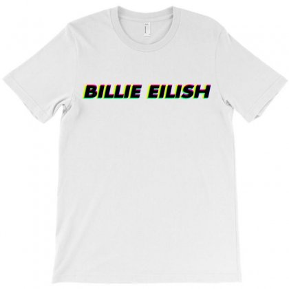 Billie Eilish Anaglyph 3d T-shirt Designed By Toweroflandrose