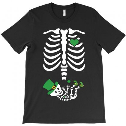 Skeletion Irish Baby T-shirt Designed By Toweroflandrose