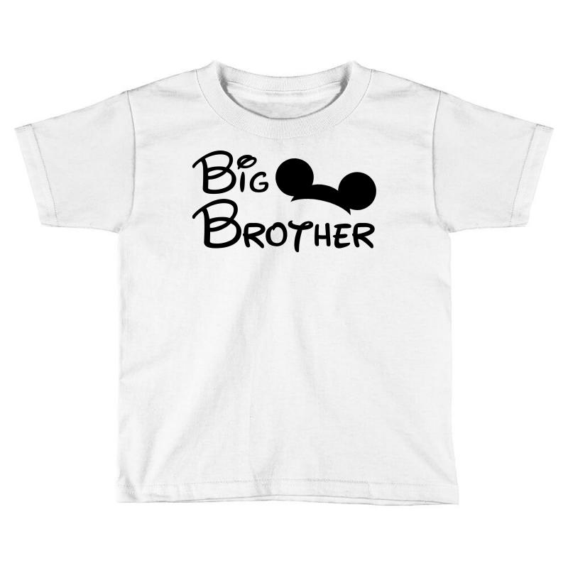 a1782445 Custom Big Brother Mickey Toddler T-shirt By Toweroflandrose ...