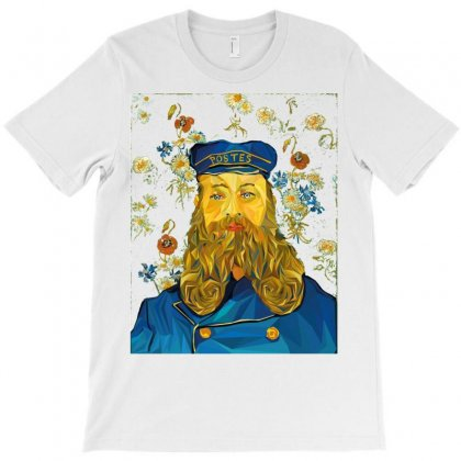 Vincent Van Gogh Cartoon Beard Illustration Bearde T-shirt Designed By Salmanaz