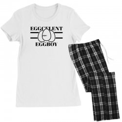 eggcelent eggboy for light Women's Pajamas Set | Artistshot