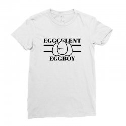 eggcelent eggboy for light Ladies Fitted T-Shirt | Artistshot