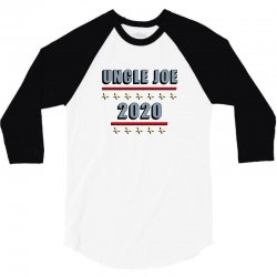 uncle joe 2020 3/4 Sleeve Shirt | Artistshot