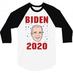 joe biden 2020 3/4 Sleeve Shirt | Artistshot