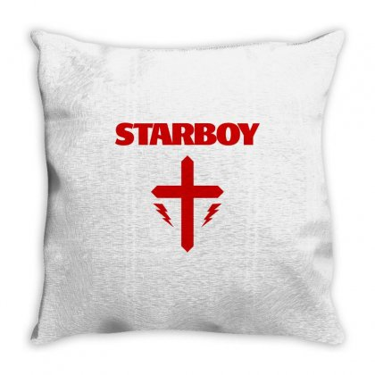 Starboy Throw Pillow Designed By Flupluto