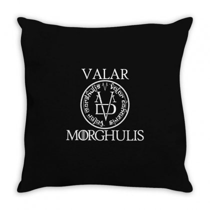 Valar Morghulis Throw Pillow Designed By Flupluto