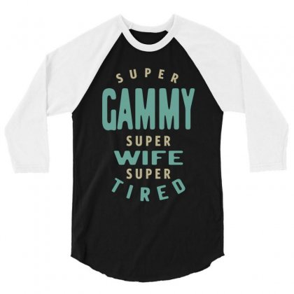 Super Gammy 3/4 Sleeve Shirt Designed By Cidolopez