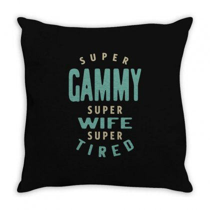 Super Gammy Throw Pillow Designed By Cidolopez